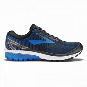 Brooks Ghost 10 Men's Running Shoe Charcoal/Blue
